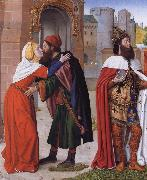 The Meeting of Saints Joachim and Anne at the Golden Gate Master of Moulins