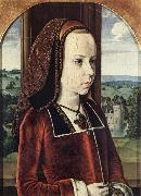 Portrait of a Young Princess Master of Moulins