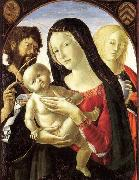 Madonna and Child with St John the Baptist and St Mary Magdalene Neroccio