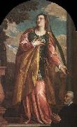 St Lucy and a Donor Paolo Veronese