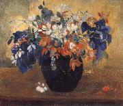 A Vase of Flowers Paul Gauguin