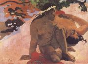 Aha Oe Feill,what,are you Jealous Paul Gauguin
