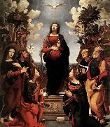 Immaculate Conception with Saints Piero di Cosimo
