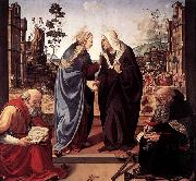 The Visitation with Sts Nicholas and Anthony Piero di Cosimo