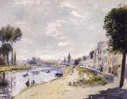 Bords de la Seine renoir