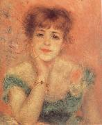 Portrait of t he Actress Jeanne Samary renoir