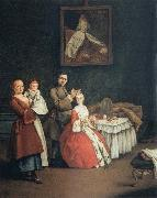 The Hairdresser and the Lady Pietro Longhi