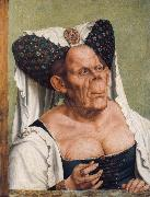 Portrait of a Grotesque Old Woman Quentin Massys
