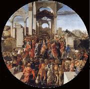 The Adoration of the Kings Sandro Botticelli