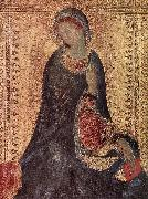 Her Madona of the Sign Simone Martini
