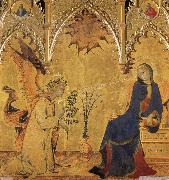 Annuciation Simone Martini