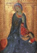 The Virgin of the Annunciation Simone Martini