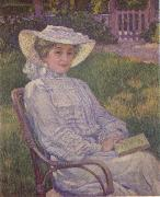 The Woman in White Theo Van Rysselberghe