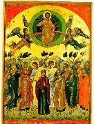 The Ascension Theophanes the Cretan