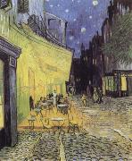 Cafe Tarrasse by night Vincent Van Gogh