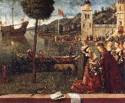 The Departure of Ceyx Vittore Carpaccio