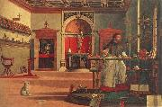 St.Augustine in his study Vittore Carpaccio