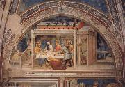 Scenes out of life Christs  Christ in the house Simons, 2 Halfte 14 centuries. GIOVANNI DA MILANO