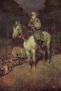 General lee on his Famous appointment Howard Pyle