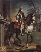 Equestrian portrait of King George II Joseph Highmore