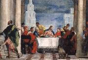 the guest meal of the Levi Paolo Veronese