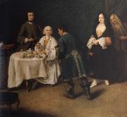 The visit in the lord Pietro Longhi