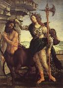 Minerva and the Kentaur Botticelli
