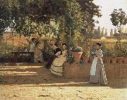 In the wine bower Silvestro lega