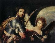 St Maurice and the Angel Bernardo Strozzi