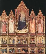 Polyptych with Madonna and Saints GIOVANNI DA MILANO