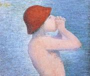 Detail of Bather Georges Seurat