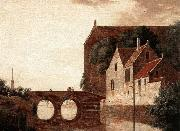 View of a Bridge HEYDEN, Jan van der