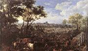 The Army of Louis XIV in front of Tournai in 1667 MEULEN, Adam Frans van der