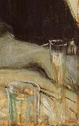 Detail of having dinner together Paul Gauguin