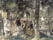 Bath in the Seine River renoir