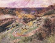 Road at Wargemont renoir