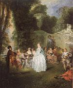 Unknown work WATTEAU, Antoine