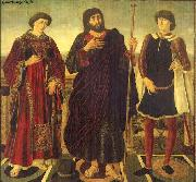 Altarpiece of the SS. Vincent, James and Eustace Antonio Pollaiuolo
