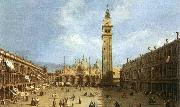 Piazza San Marco Canaletto