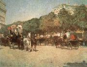 Grand Prix Day Childe Hassam