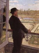 Portrait of the Artist Karl Nordstrom at Grez Christian Krohg