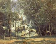 The Mill at Saint-Nicolas-les-Arras Corot Camille
