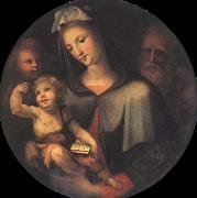 The Holy Family with Young Saint John around Domenico Beccafumi