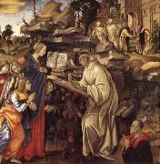 The Vison of Saint Bernard Filippino Lippi