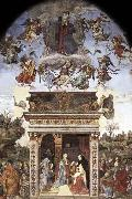 Assumption and Annunciation Filippino Lippi