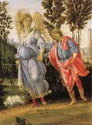 Tobias and angeln, probably Filippino Lippi