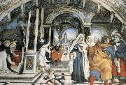 Scene from the Life of St Thomas Aquinas Filippino Lippi