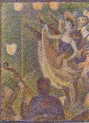 Dancers on stage Georges Seurat