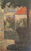 Houses at Le Raincy Georges Seurat