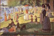 A Sunday Afternoon at the lle de la Grande Jatte Georges Seurat